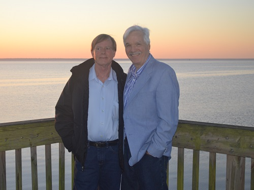 Paul and Kent at Easter Sunrise Service
