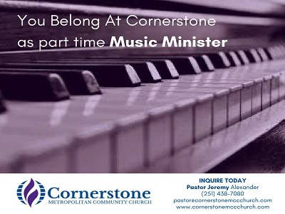 Cornerstone MCC - Mobile, AL - Inclusive Christian Church for LGBT and Straight Individuals
